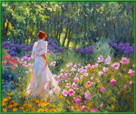 imagens jardim florido:Jardim Florido
